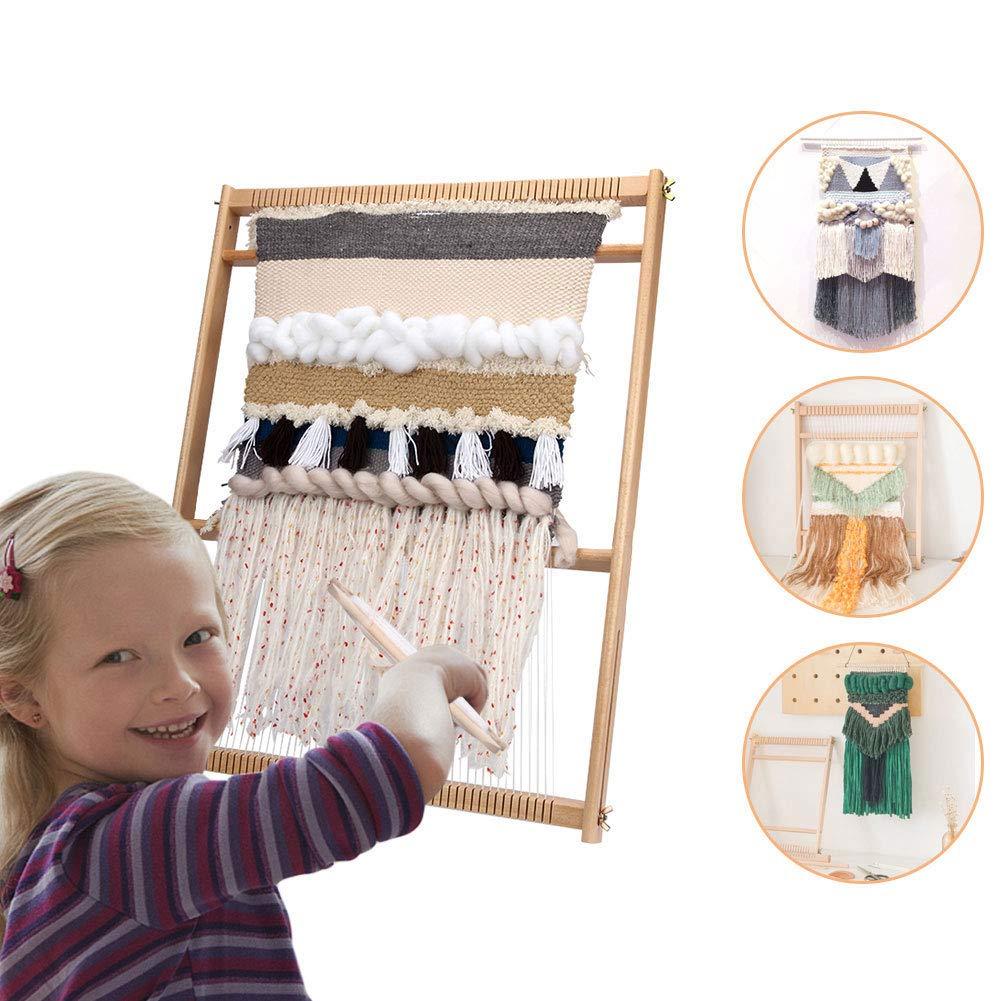 Xatan Wooden Weaving Handcraft Set Knitting Kit Frame