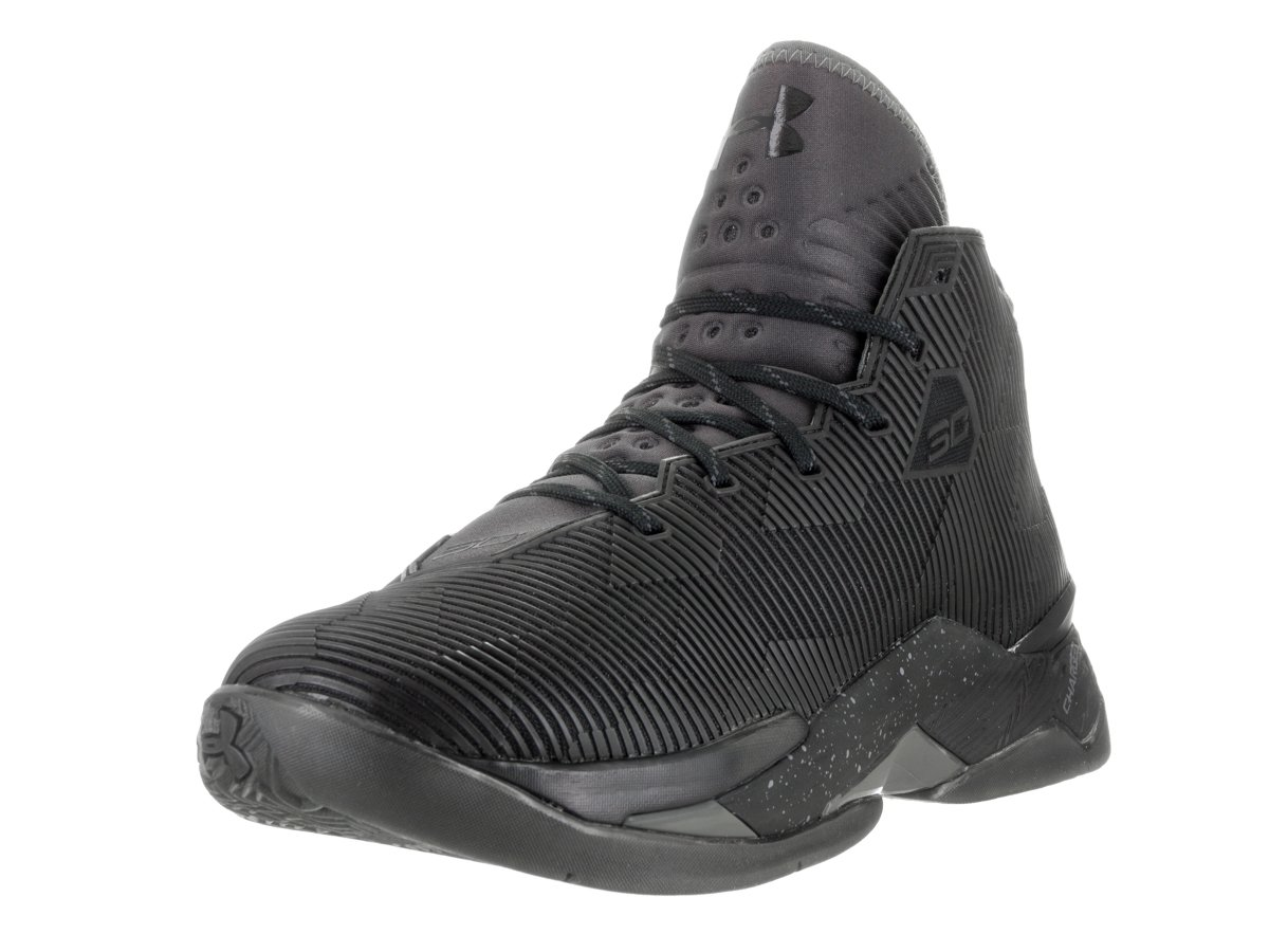 Under Armour Men's Ua Curry 2.5 B0182L2UEM 9 D(M) US|Black/Charcoal/Charcoal