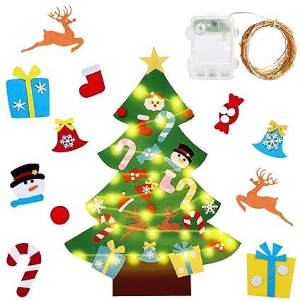 ac9378380e5d35 ... Catene Luminose Staccabili Velcro Riutilizzabile Regali di Natale  Decorazione della Parete Portello Vetrina per Bambini Adulto: Amazon.it:  Casa e cucina