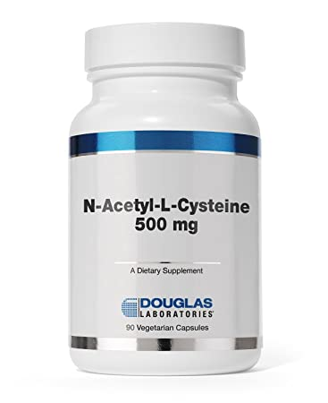 Douglas Laboratories – N-Acetyl-L-Cysteine 500 mg – Glutathione Precursor for Antioxidant Protection* – 90 Capsules
