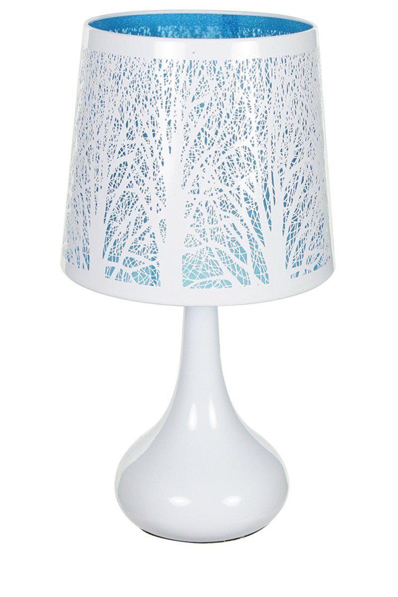 best lampe touch mtal blanc motif arbre bleu with lampe de chevet winnie. Black Bedroom Furniture Sets. Home Design Ideas