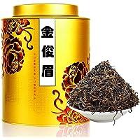 滇迈 2018春茶金骏眉红茶 400克装蜜香武夷山金俊眉礼品盒装特级春茶罐装