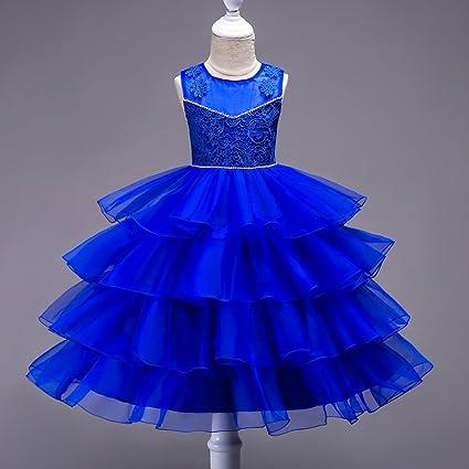 Ghtwjj Vestidos De Noche De Niña Vestido De Princesa De La