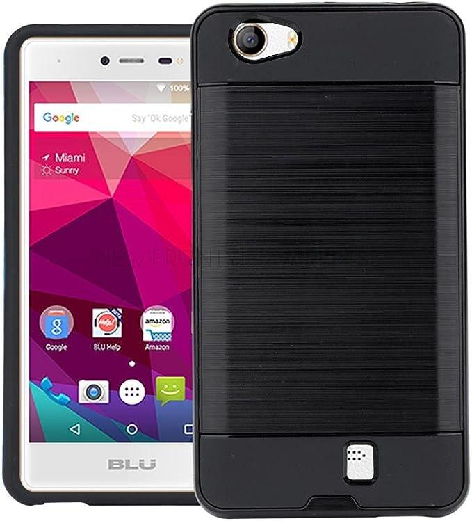BLU Studio X5 - Funda de Piel sintética para Smartphone (Incluye ...