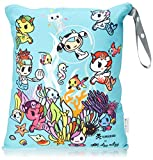 Itzy Ritzy Tokidoki Travel Happens Large Sealed Wet Bag, Underwater Adventure