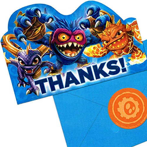 Skylanders Thank You Notes w/ Envelopes (8ct)
