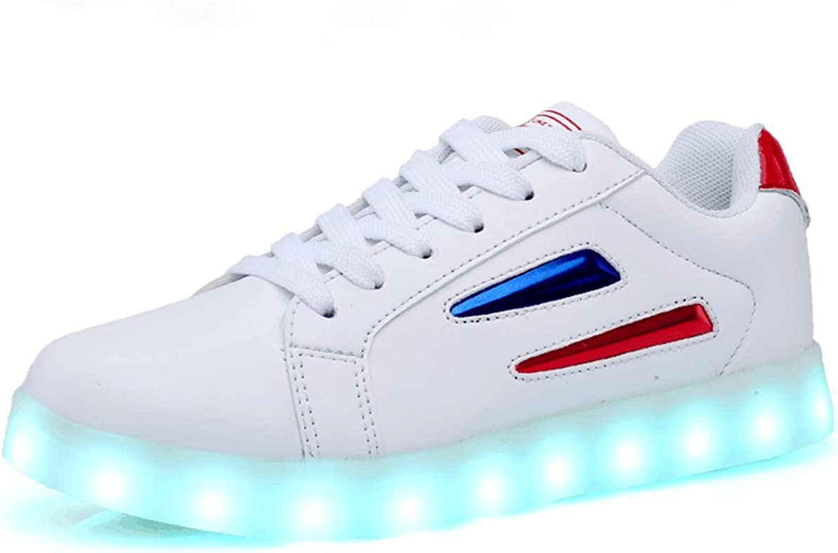 LED Shoes Sneakers USB Charging 7 Color