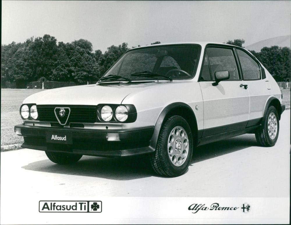 Vintage photo of Alfa Romeo Alfasud ti quadrifoglio verde