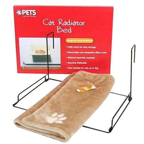 TOOGOO Cama del radiador de los gatos y de los perros cuna de colchon de felpa