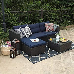 61RebIfs01L._SS300_ Wicker Patio Furniture Sets