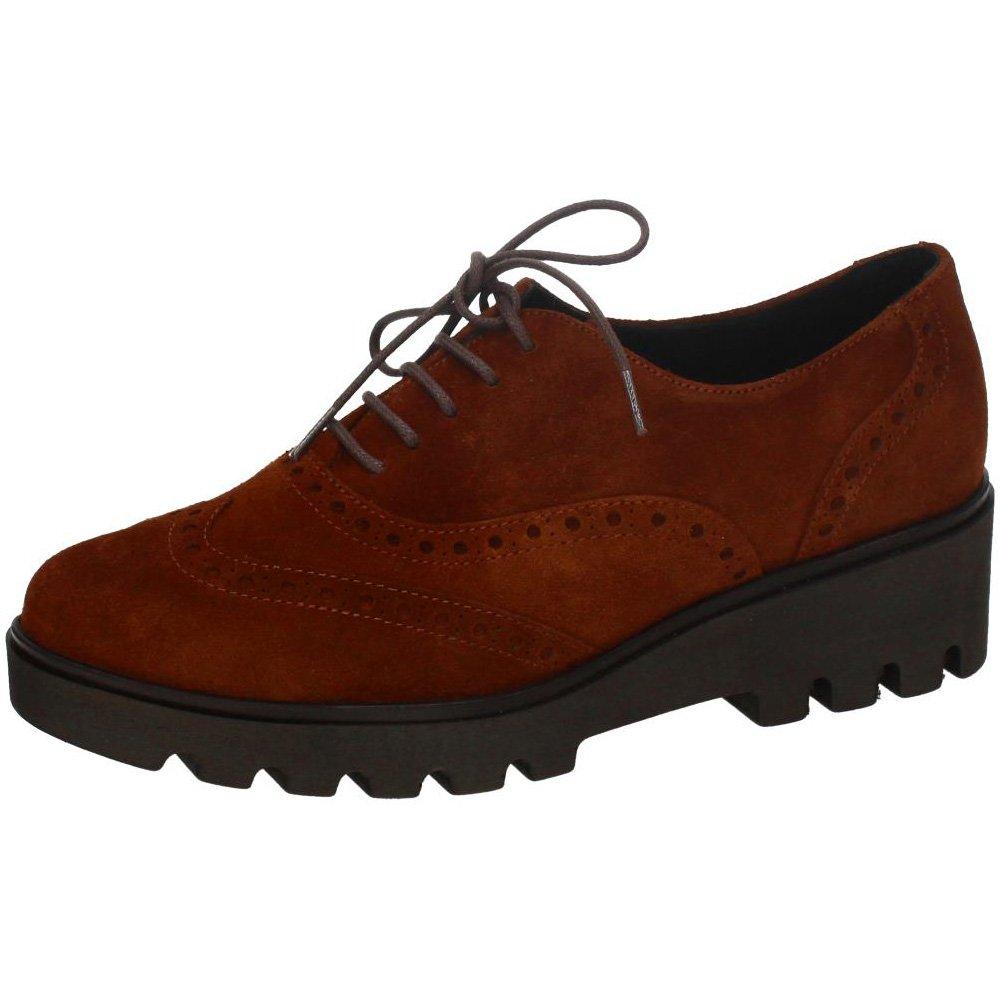 Aback I17.3304 Zapato DE Serraje Mujer Zapatos CORDÓN 39 EU|Camel