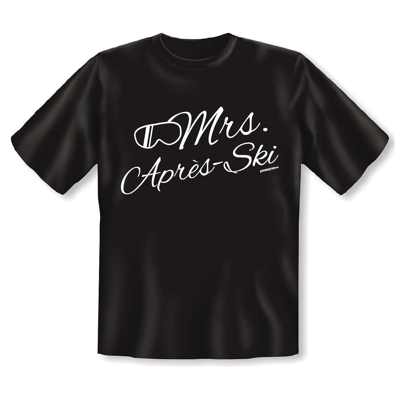 Beeindruckendes T-Shirt für Pisten-Ladies -- MRS APRES SKI -- cooles Motiv von Goodman Design