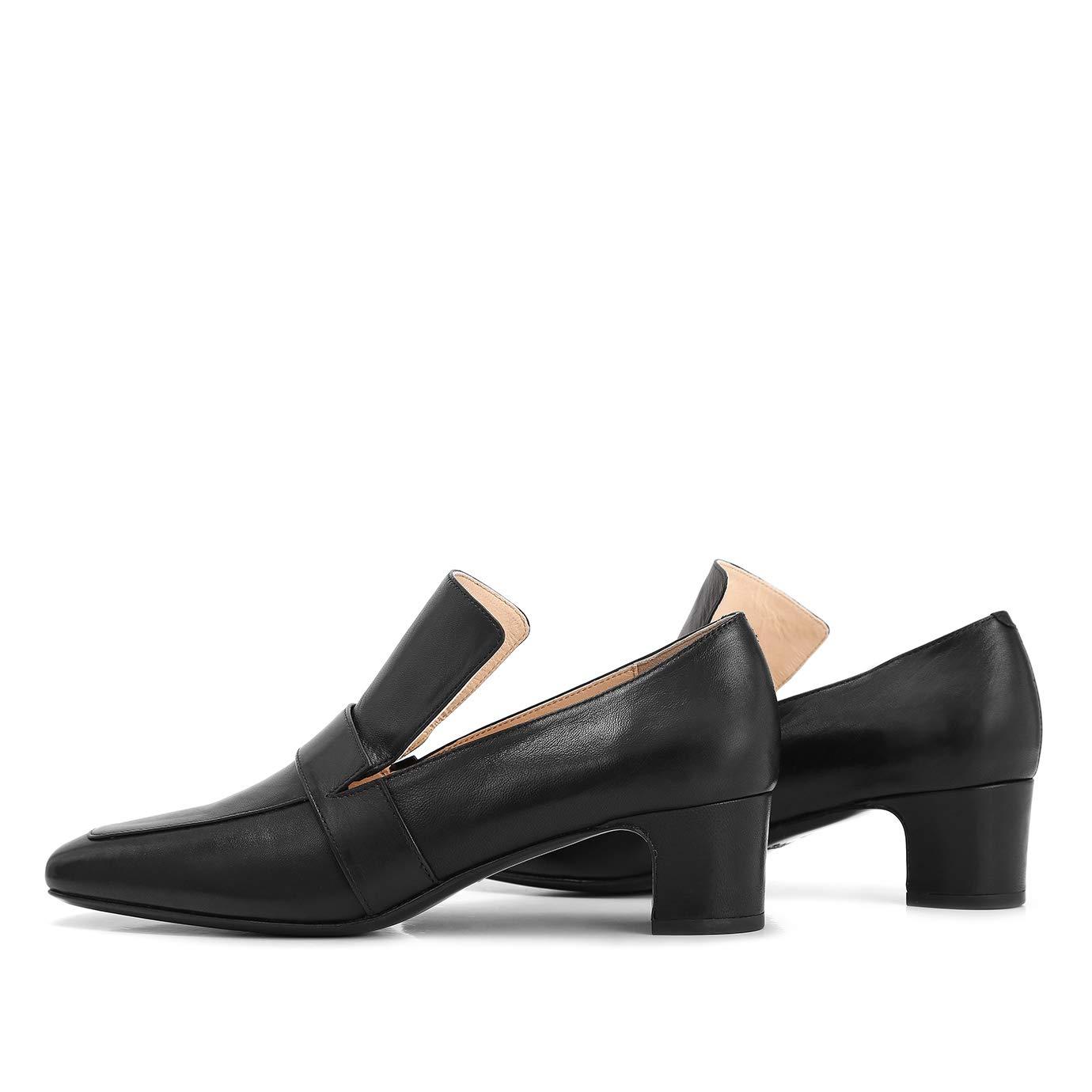 #330212 RABEANCO NOONA Chunky Heel Loafers