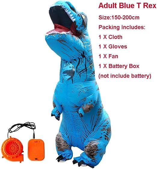 Wangcai Disfraz De Dinosaurio para Adultos, Ropa Inflable, Disfraz ...