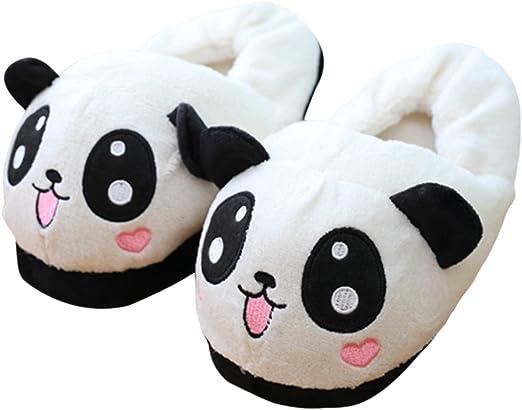 Home Slippers Cute Panda Style Soft Shoes Indoor Anti-slip Warm Slipper