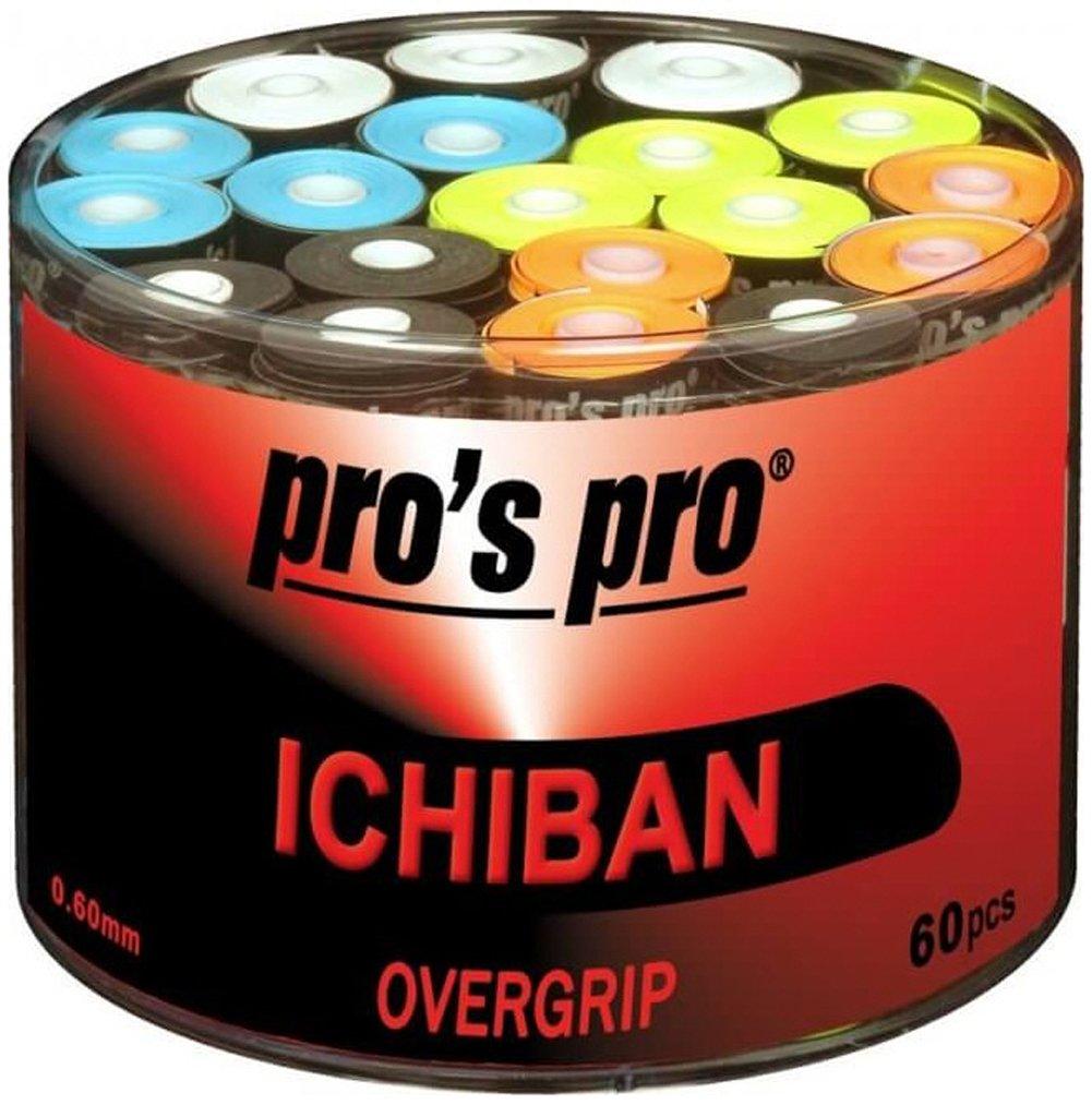 60 Overgrip Ichiban Tape colorido tennis grips Cinta para mango de ...
