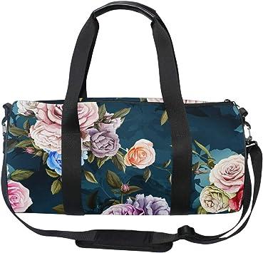 Vintage Flowers Gym Bag