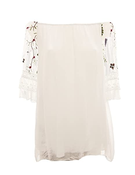 the best attitude 4a496 f338f Fashion - Camicia - stile impero - Senza collo - donna ...