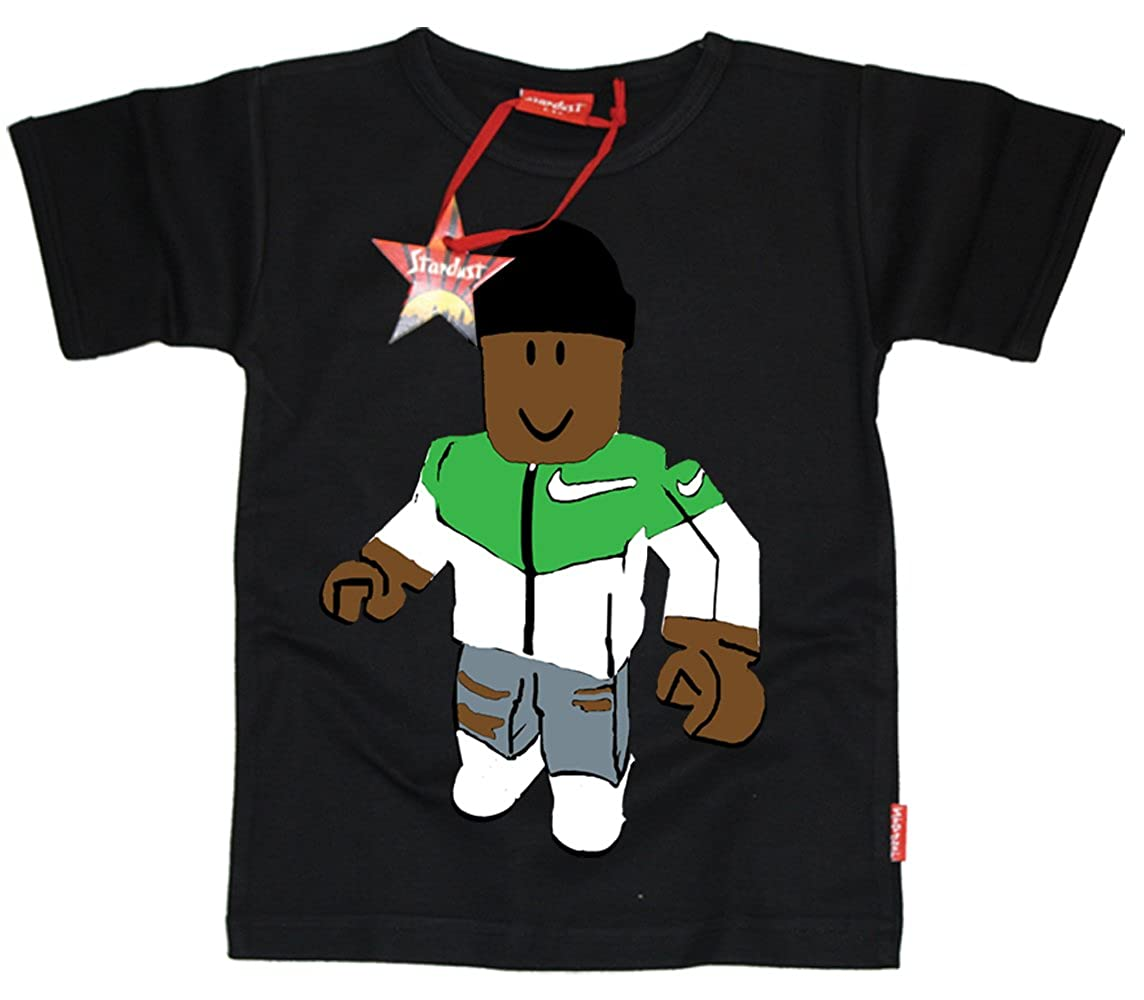 Stardust Ethical Kids Childrens Gaming With Kev Roblox T Shirt Black