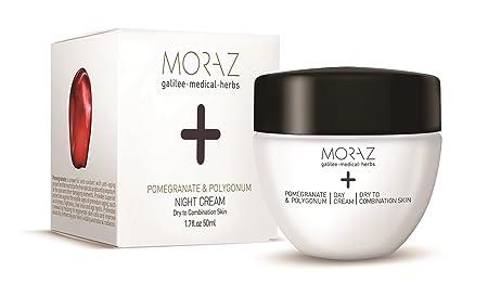 Moraz Night Cream for Dry to Combination Skin Pomegranate Polygonum 1.7 fl.oz. 50 ml