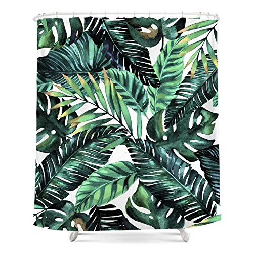 Top 10 best palm leaves shower curtain for 2019