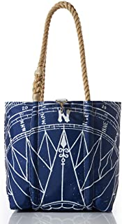 product image for Sea Bags Recycled Sail Cloth Navy True North Handbag