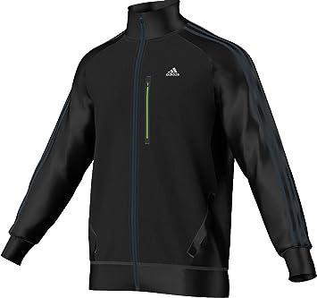 adidas Herren Trainingsjacke Clima365 Tracktop, blackblack