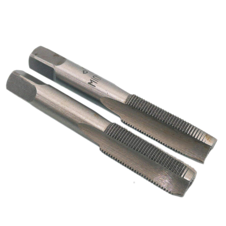 HSS 10 x 0.75 Metric Taper and Plug Tap Right Hand Thread M10 x 0.75mm Pitch