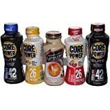 COREPOWER Natural High-Protein Milk Shake Healthy Variety (Pack of 5)
