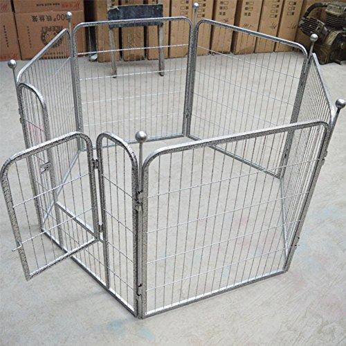 SL&ZX Dog fence,Paint fence Medium dog cage Folding fence Tall dog playpen...