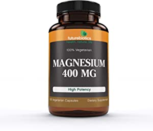 Futurebiotics Magnesium 400 mg., 100 Vegetarian Capsules