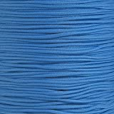 Tactical Cord 425 LB Tensile Strength 3 Strand Core Paracord Spools - 250 Foot and 1000 Foot Size Options (Colonial Blue, 250 Feet)