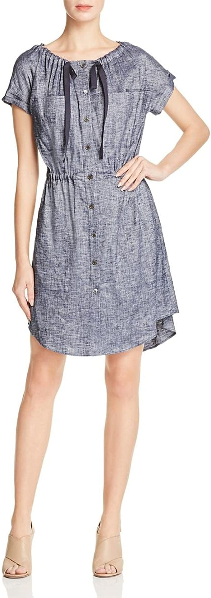 Theory 希尔瑞 Laela Tierra 亚麻连衣裙 10码1.7折$60.19 海淘转运到手约¥447