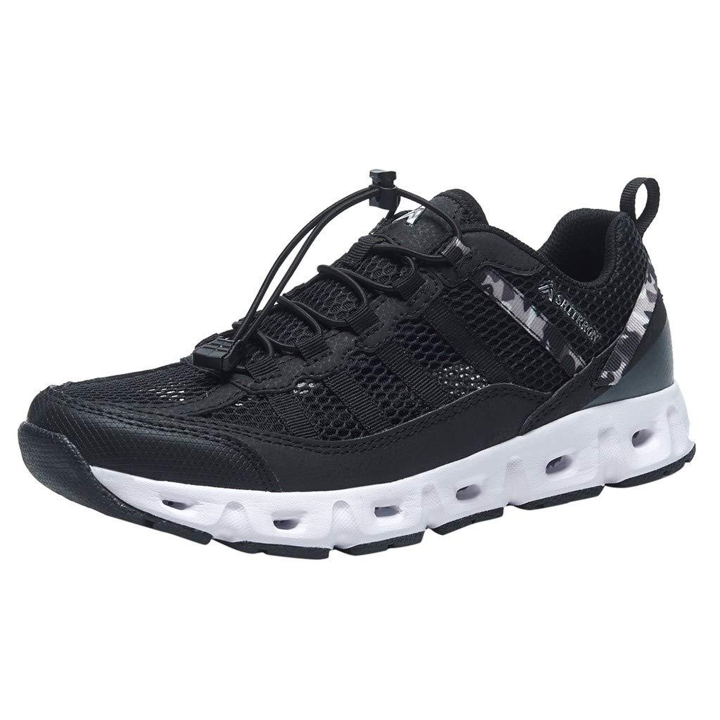 Black Xinantime Summer Water shoes Men Women Quick Drying shoes Swim Surf Beach Pool shoes Water Sports shoes