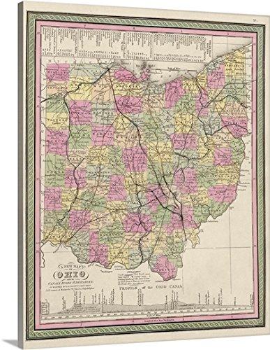 Ohio Antique Map - 9