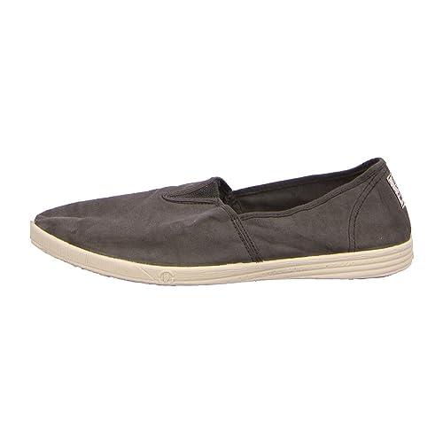 Natural World 305-574 - Mocasines de tela para hombre, color gris, talla 41: Amazon.es: Zapatos y complementos
