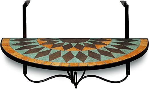 Balcony table hang table mosaic garden table dining tables hanging bistro tables