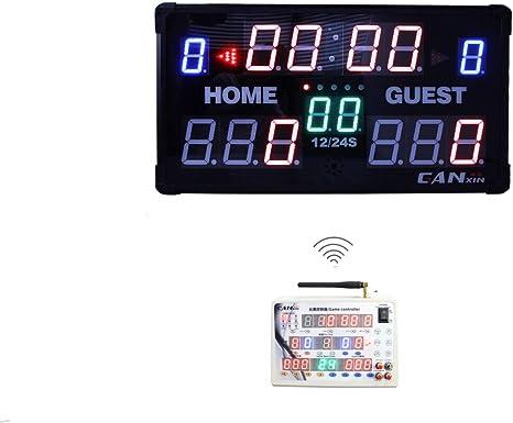 GANXIN LED Marcador – Marcador de Mesa Interior electrónico con ...