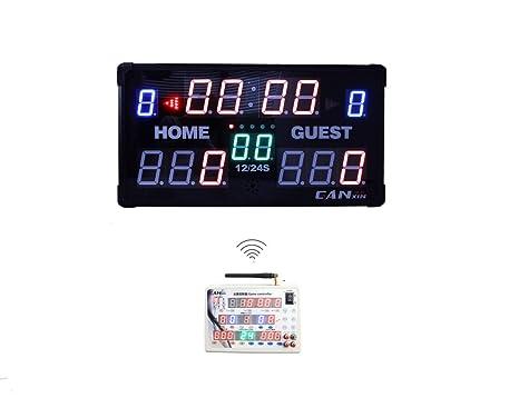 GANXIN LED Marcador - Marcador de Mesa Interior electrónico ...