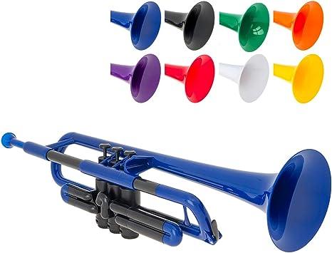 Ptrumpet 700626 - Trompeta con boquilla y funda: Amazon.es: Instrumentos musicales