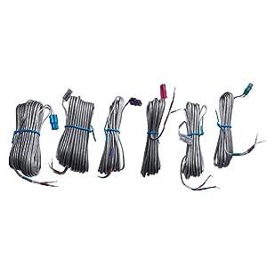 Speaker Cables AH81-02177B for Samsung HT-HM55 HT-H4500K HT-H5500 HT-H5530 HT-J5530 HT-J5530K HT-H5550 HT-J5500 HT-J5500W HT-J5550W HT-H6500WM HT-H6530WM HT-H6550WM HT-D5100/XU Home Theater System