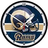 Los Angeles Rams Round Clock