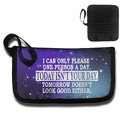Can Only Please 1 Person A Day Travel Wallet Passport Holder Document Organizer