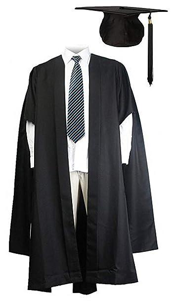 GraduationMall Adulti scAnalati Abito Master Laurea con Cappello accademico  Bachelor Mortarboard  Amazon.it  Abbigliamento b979b55df3f8