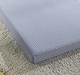 """Simmons BeautySleep Siesta 3"""" Memory Foam Mattress: Roll-Up Bed / Floor Mat, Twin"""