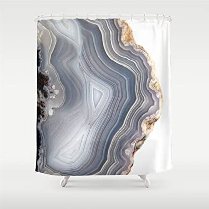 Amazon Weeya Dreamy Agate Shower Curtain 60x72 Inch Home Kitchen