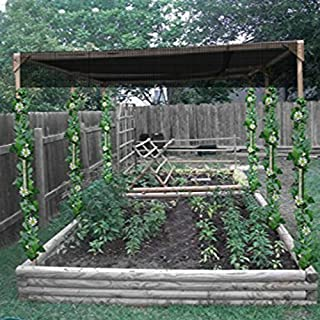 OriginA Shade Cloth 10X20ft Black 70% Sunblock -Cut Edge, Protect Your Plant for Greenhouse, Patio Sun Shades and Privacy Screen Fence