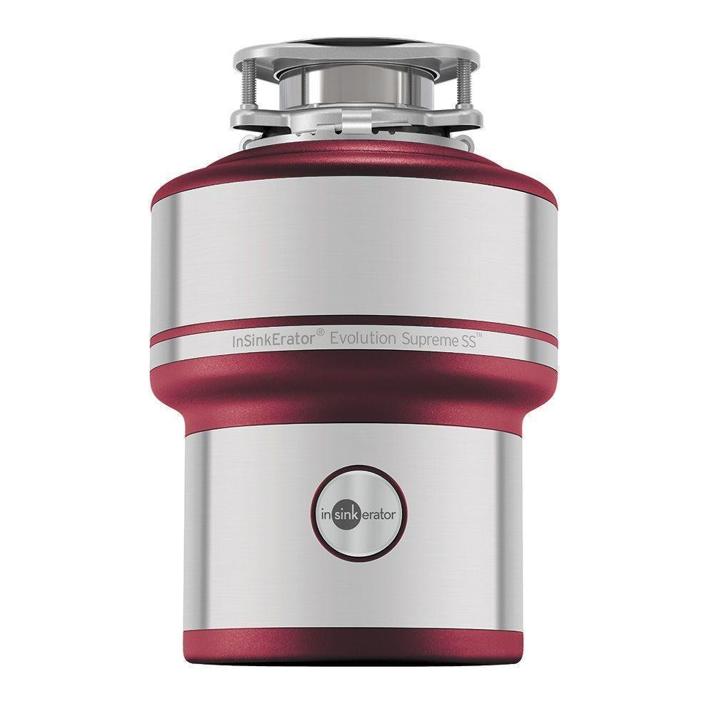 Emerson InSinkErator Supreme SS W/C Evolution 1 HP Continuous Feed Garbage Disposal by Emerson