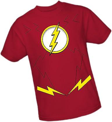DC Comics Flash Traje The New 52 Adulto Camiseta, XXXL: Amazon.es: Ropa y accesorios