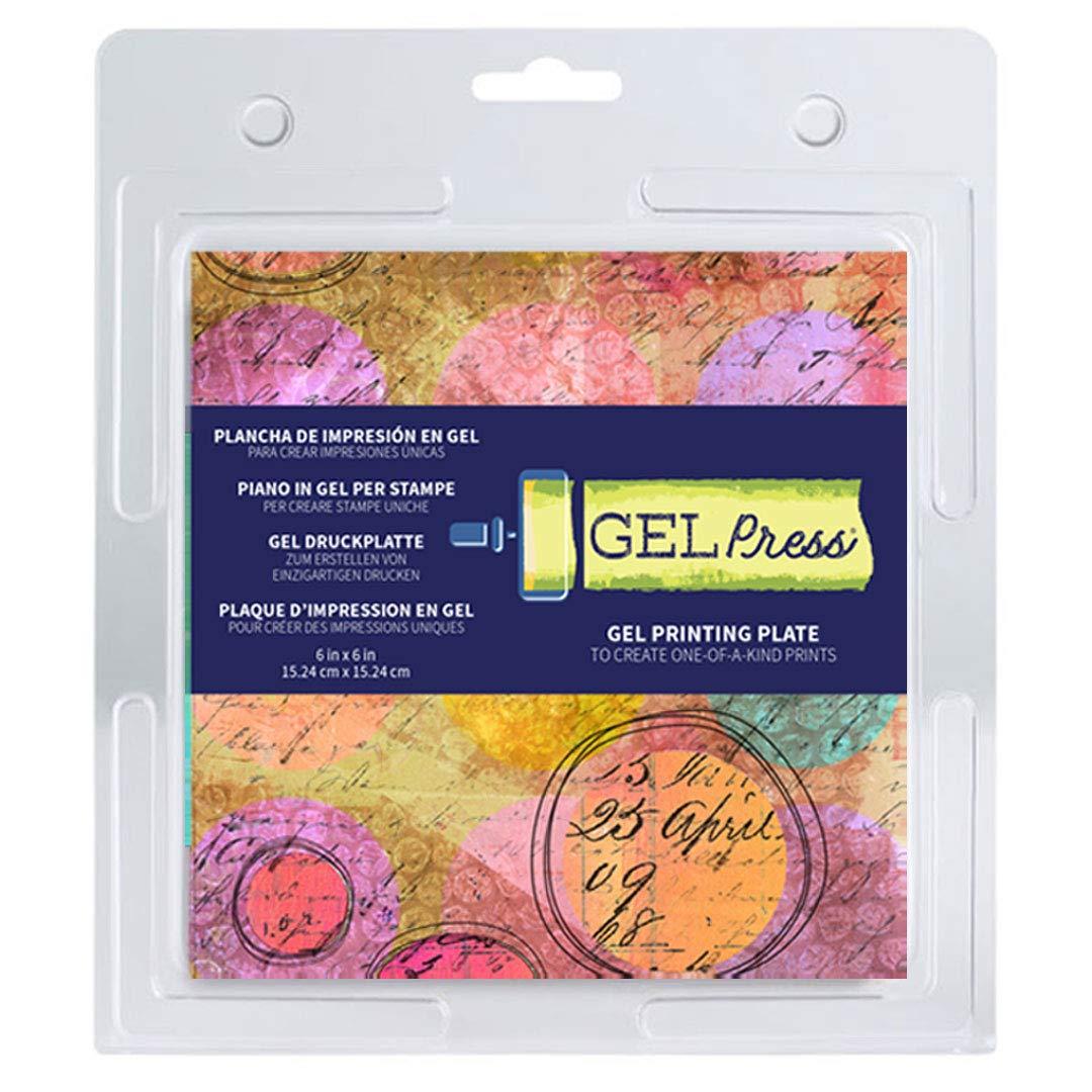 Plancha de Gel para Impresiones GEL PRESS 15x15cm